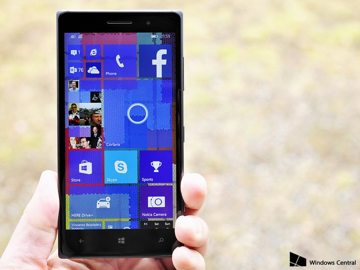 Updating to Windows 10 Mobile.