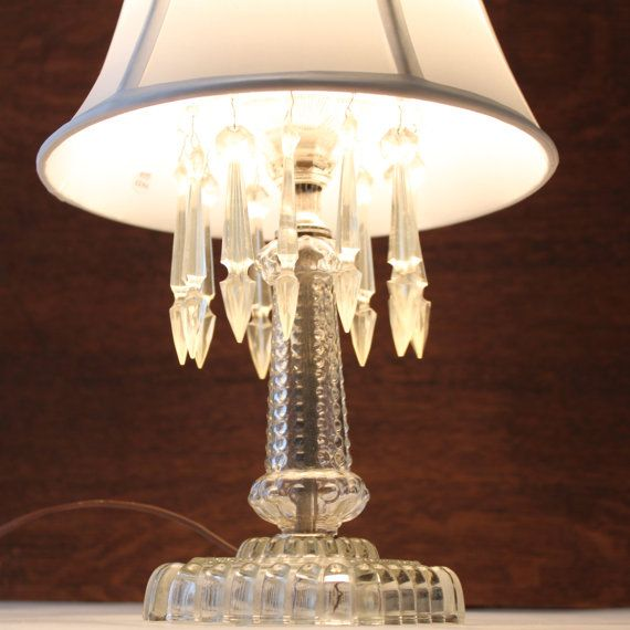 Brilliant Home  Lighting  Table Lamps  French Shabby Chic White Table Lamp