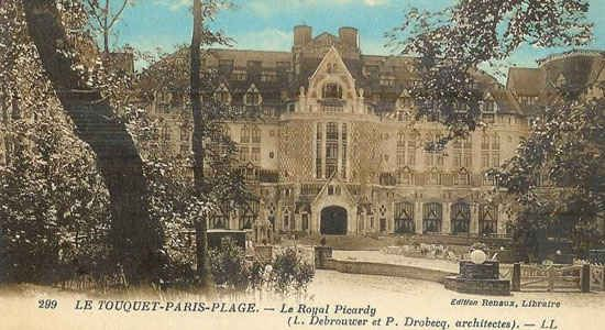 The biggest and most luxurious hotel in the world - the Royal Picardy Hotel  Le Touquet Paris-Page