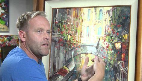 Steven Quartly, 1971 | Impressionist palette knife painter | Tutt'Art@