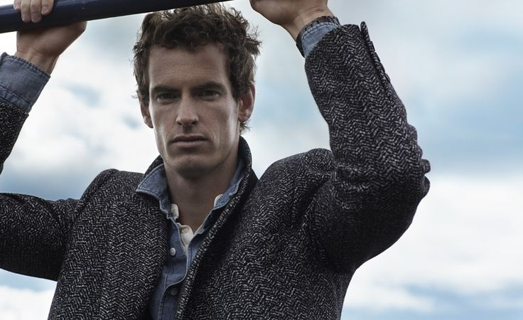 """Mr. Andy Murray"", an interview by Mr. Porter Journal..... WOW, this pic, he looks so HOT!!!"