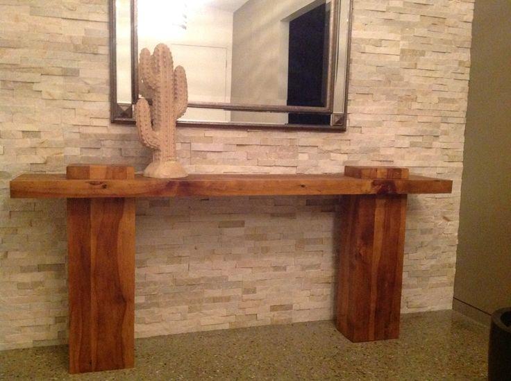 Side table. Built using Hoop Pine