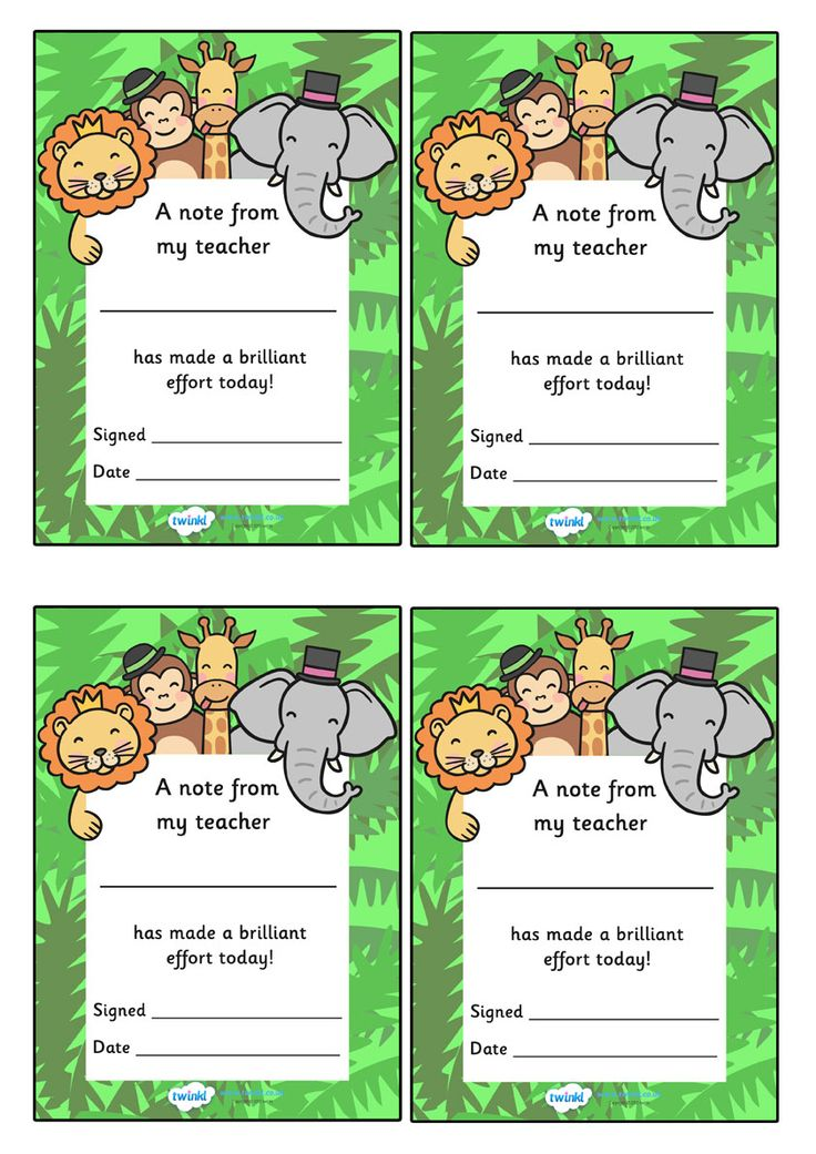 Classroom Ideas Printables ~ Best images about preschool positive notes on pinterest