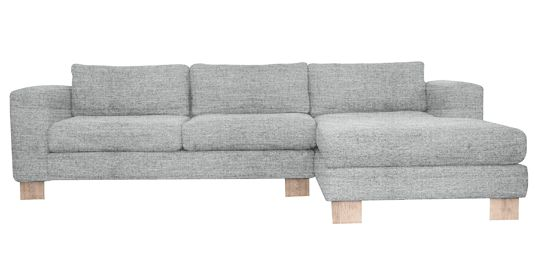 - Cargo           Fully Upholstered Couch (  Capset - 2 - Mist )