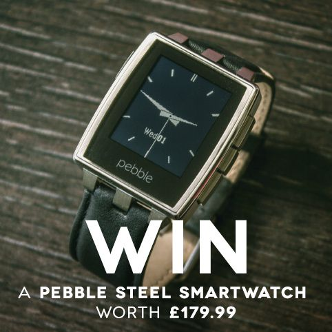 The Pebble Steel Smartwatch Competition at Firebox.com