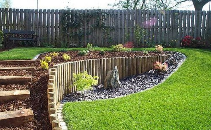 Design Ideas For A Sloped Backyard Backyard Pinterest Best