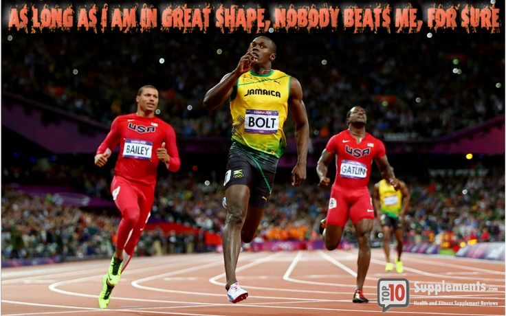 Usain Bolt quote for today #top10supps #motivation