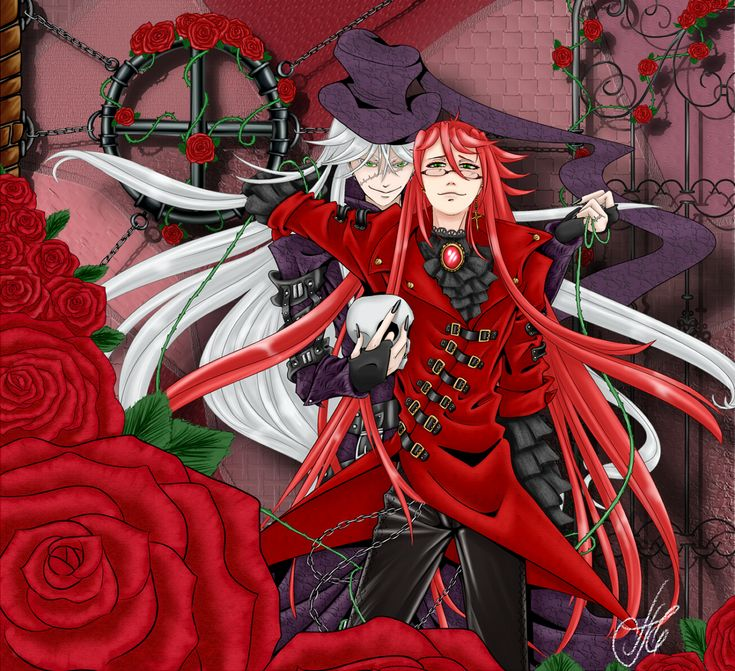 40 best undertaker amp grell images on pinterest black