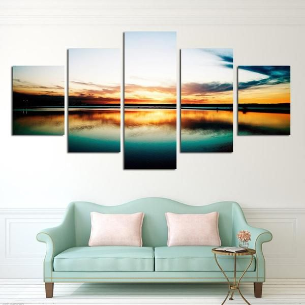 Cloudy Sky Canvas Set