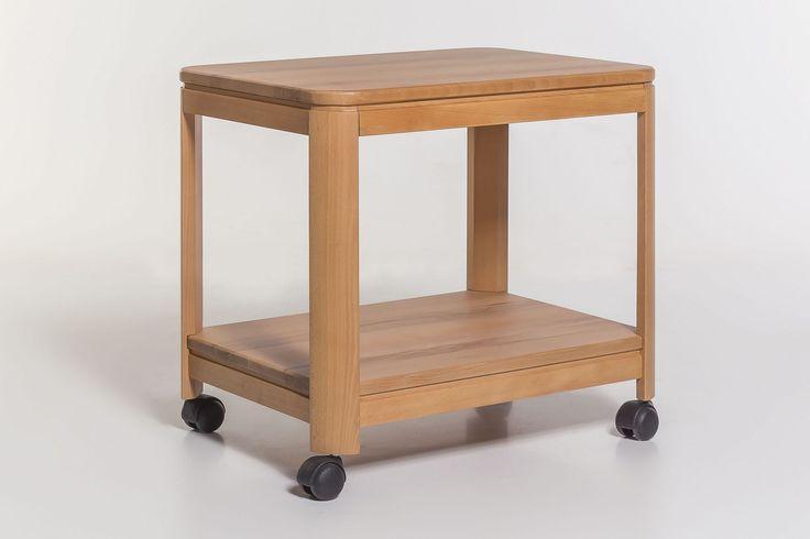 beistellwagen wildeiche ge lt mit rollen klassisch neu woody 29 00774 braun holz jetzt bestellen. Black Bedroom Furniture Sets. Home Design Ideas