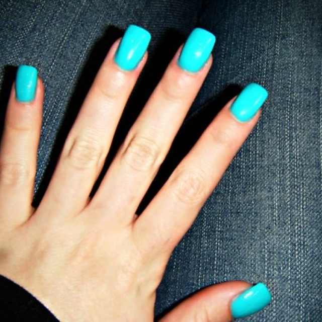 33 Best Images About TEAL/BLUE NAILS! On Pinterest