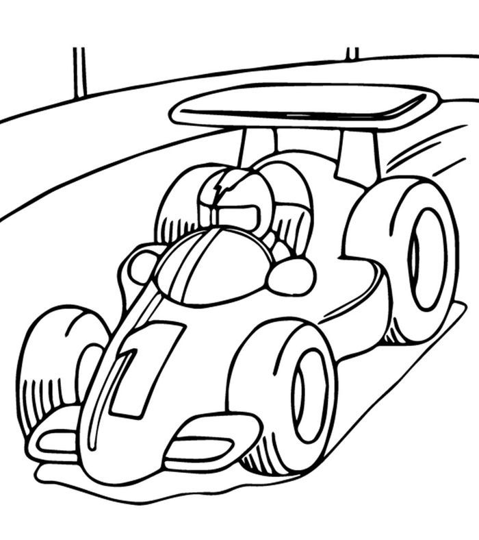 Car Coloring Pages In 2020 Race Car Coloring Pages