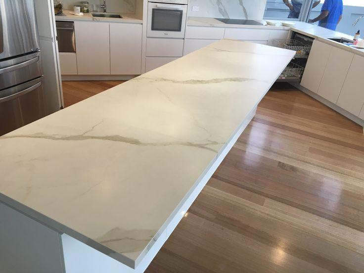 Bianco Statuario Venato Soft Touch 1620x3240x12mm Kitchen Island Bench Top