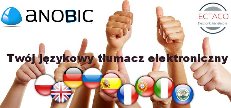 ECTACOINC.PL | Kieszonkowe słowniki electroniczne: Anobic: Twój tłumacz elektroniczny