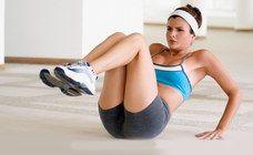 Exercices abdominaux : gainage abdos - aufeminin