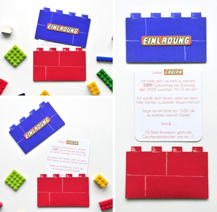Lego Geburtstagsparty // Lego Birthday Party (+ Freebies). Partyspiele  GeburtstagKinder GeburtstagLego GeburtstagspartyEinladung KindergeburtstagFür  ...