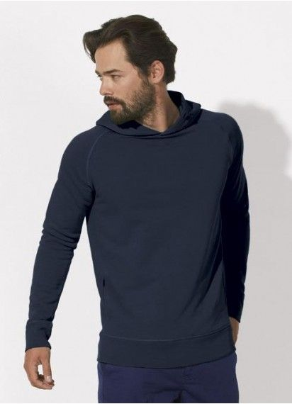 Toasty Boy hoodie in Navy! Fair trade and made from 85% organic cotton.