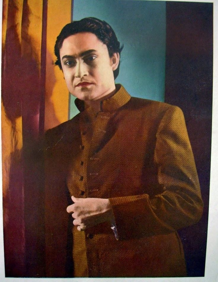 Ashok Kumar in a still from the Bombay Talkies' film Azad (1940)