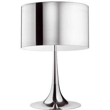Ylighting Spun lamp by FLOS in silver