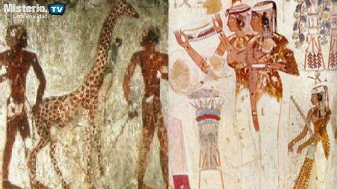 gigantes en egipto