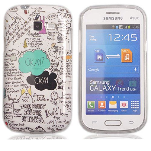 Voguecase tpu silicone shell housse coque tui case cover - Coque telephone samsung galaxy trend lite ...