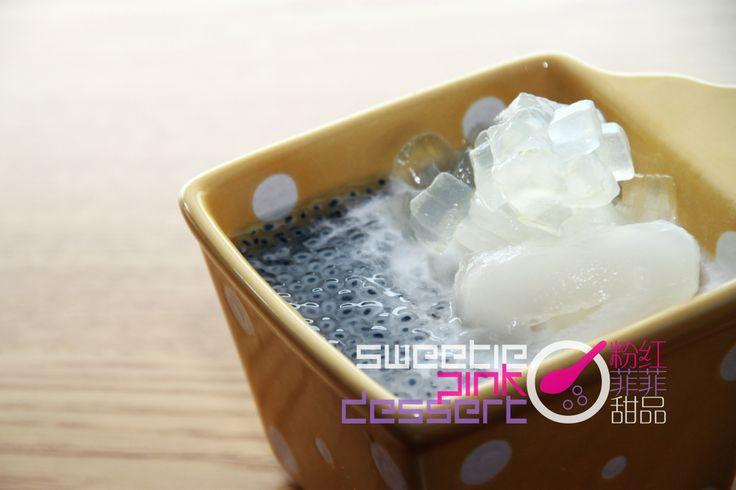 Sea #Coconut  Barley in #Coconut Milk #小黑子 椰爺 小黑子椰爷