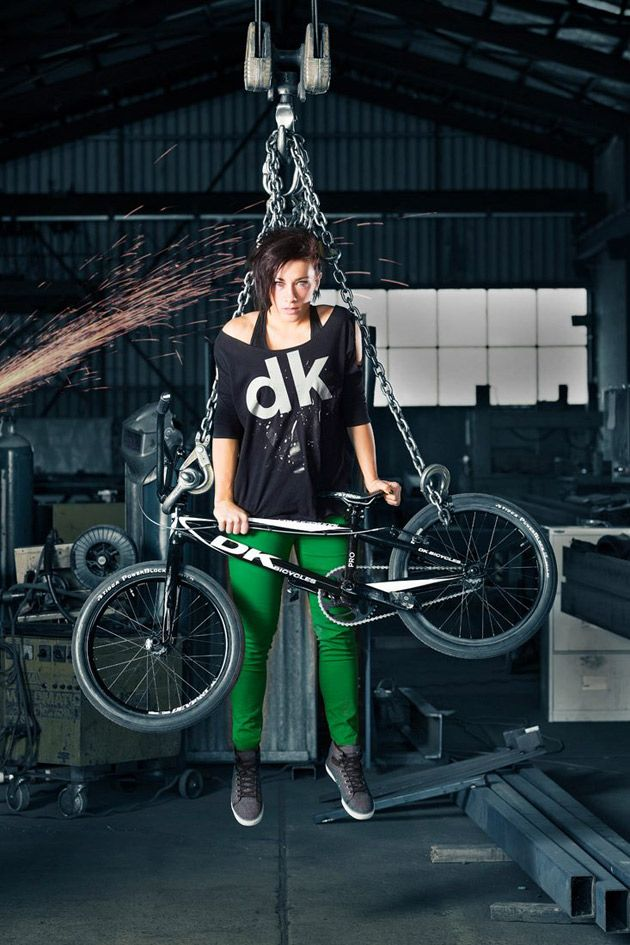Photo Shoot, Adam Mc Grath, H Creations Photography, DK, DK Bicycles, BMX Racing, Women In Sport, Female Athlete, Extreme Sport, Action Sport