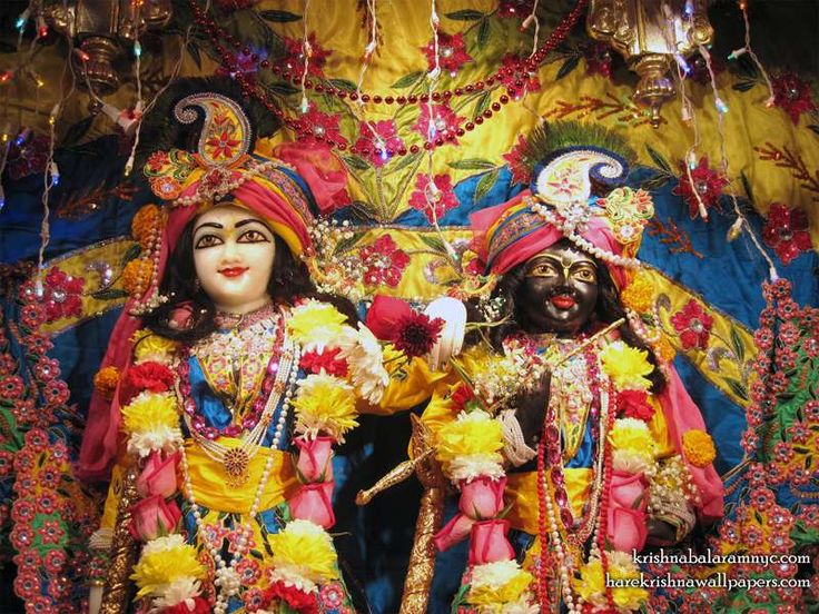 Sri Sri Hari Haladhari Close up Wallpaper