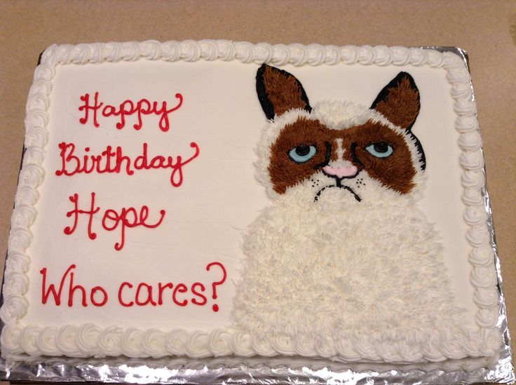 Grumpy Cat Cake Design : The 25+ best Grumpy Cat Cakes ideas on Pinterest Paw ...