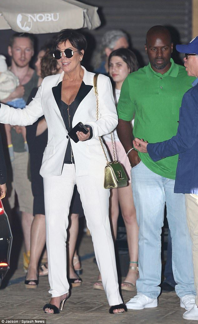 White hot! Kris Jenner and her boyfriend Corey Gamble had a second dinner date with Tommy Hilfiger and his wife Dee Ocleppo on Saturday night