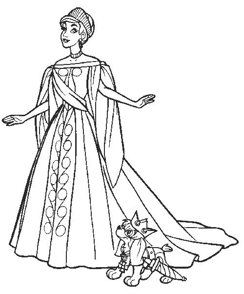 coloring page Anastasia Coloring pages fairy tales