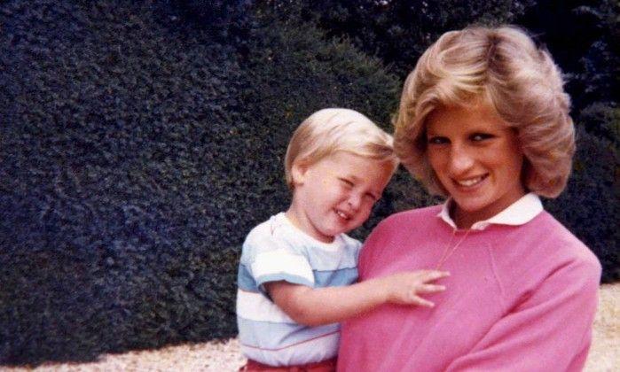 William e Harry revelam fotos e memórias da intimidade com Diana - Jornal O Globo