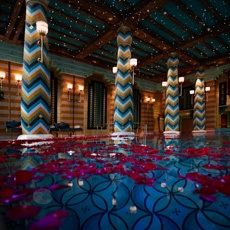 Moonlight Swim at the Burj Al Arab