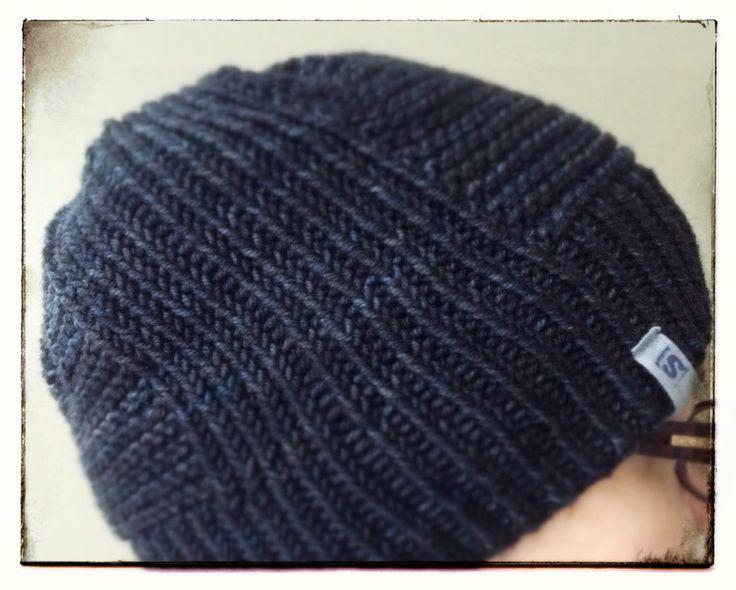 A winter hat. Pattern my own, yarn by Malabrigo. Pipo talveksi, oma malli.