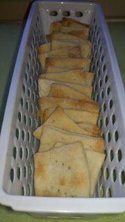 ramblingstump: Make Your Own Crackers