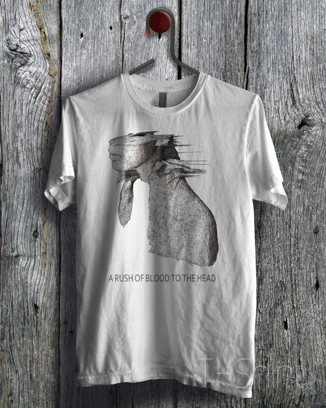 A Rush of Blood to The Head Coldplay Tee - zLi Unisex Tees For Man And Woman / T-Shirts / Custom T-Shirts / Tee / T-Shirt