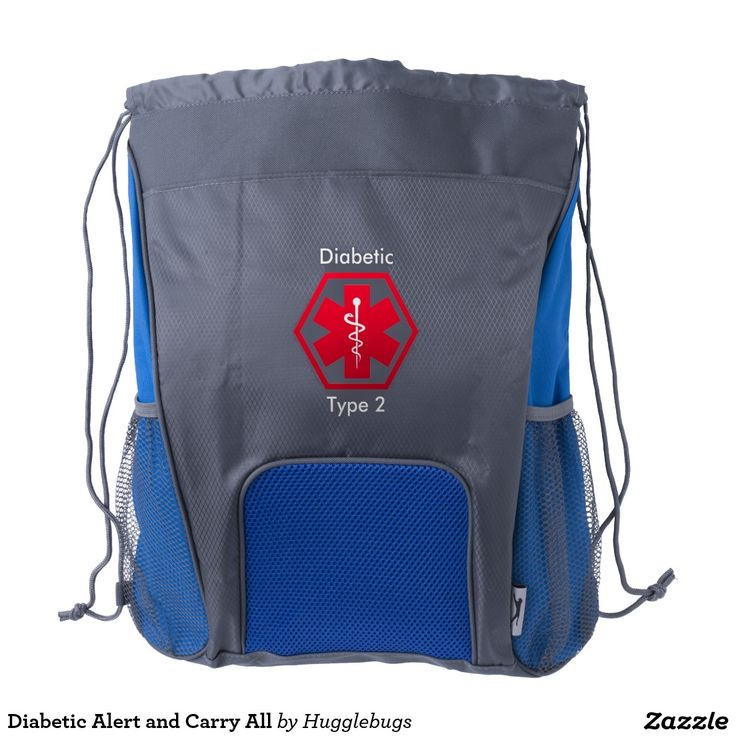 Diabetic Alert and Carry All Backpack