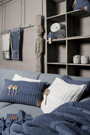 Nieuwe collectie kussens en plaids van the Knit Factory @House of Mayflower http://pinterest.com/byhouse/