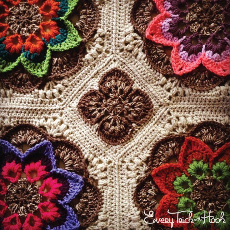56 besten Lotus Moon Bilder auf Pinterest   Häkeldecken, Crochet ...