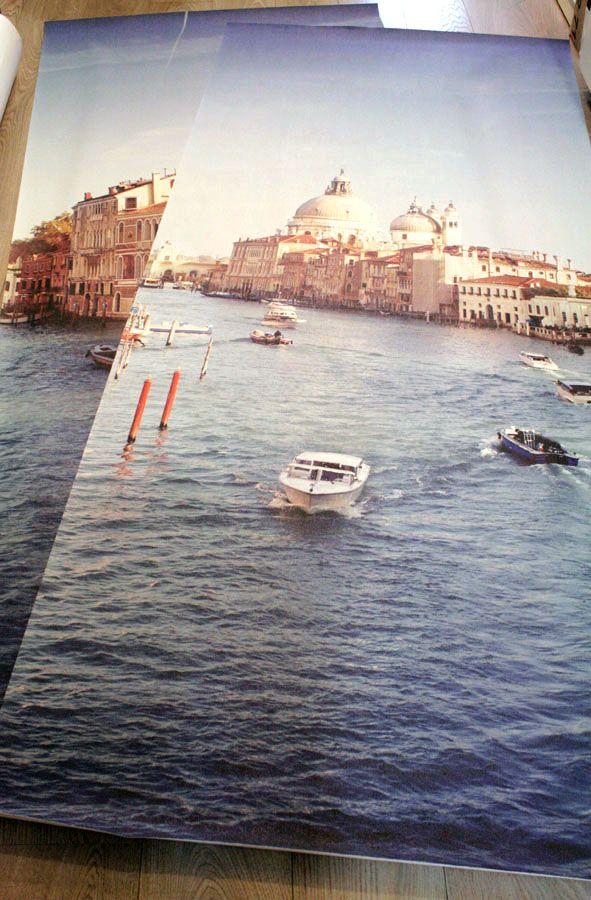 Печать фотообоев с видами Венеции