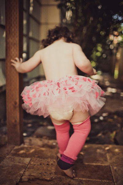 Baby Leg - Harp - Serious Princess Style