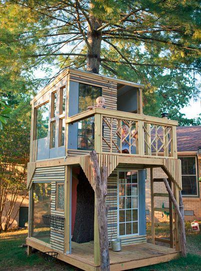 outdoor playhouse | houzz