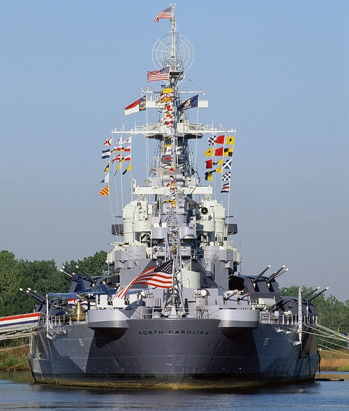 Battleship NORTH CAROLINA | Wilmington, NC - I remember when we took our son…