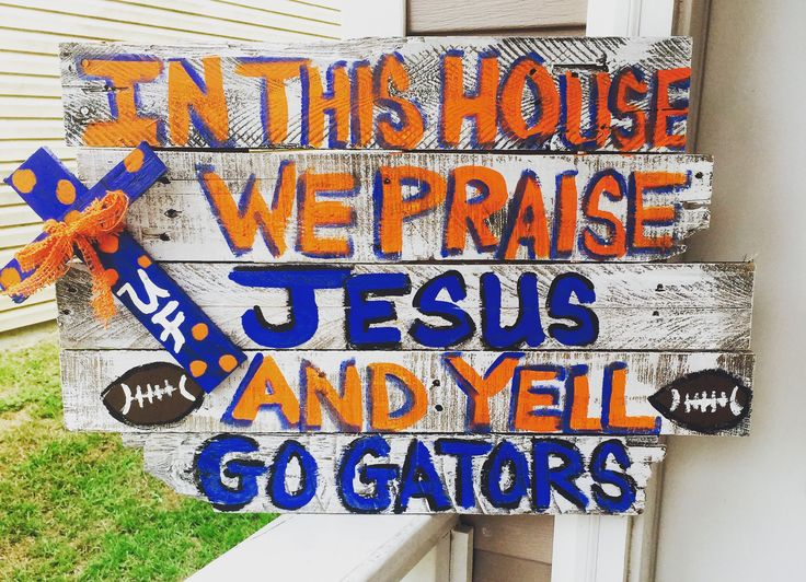 This house is ready for some Gator football