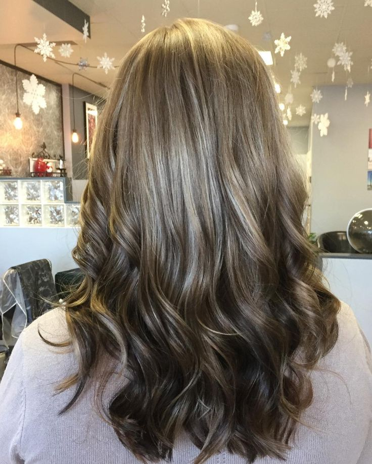 Natural red reverse ombre hair