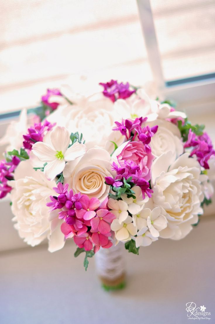 DK Designs - dogwoods, redbuds, roses, peonies, hydrangea, burlap, lace and pearls