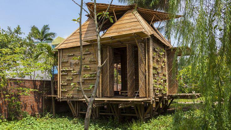 La casa para gente sin recursos: Blooming Bamboo