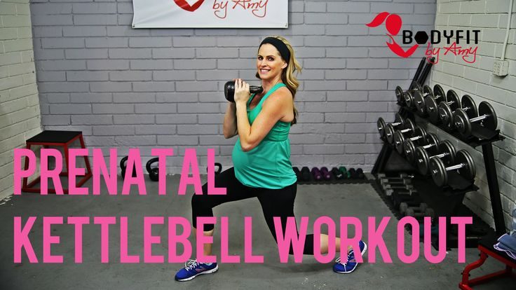 This 20 minute prenatal workout uses one kettlebell to work the entire body in a safe and effective way during pregnancy. This workout can…