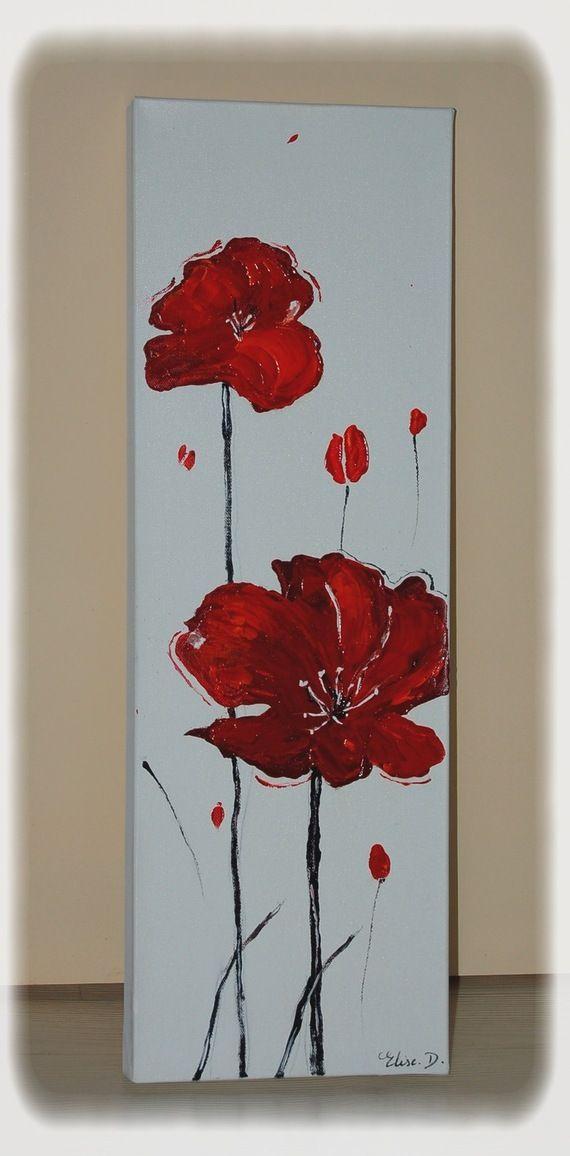 Les 25 meilleures id es de la cat gorie peintures de fleurs abstraites sur pinterest fleurs - Catalogue de fleurs gratuit ...
