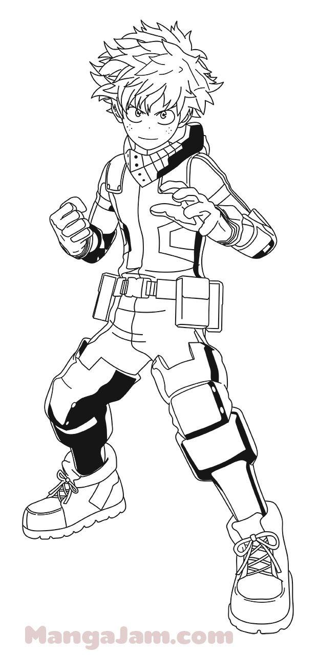 images How To Draw My Hero Academia Characters Deku how to draw midoriya izuku from boku no